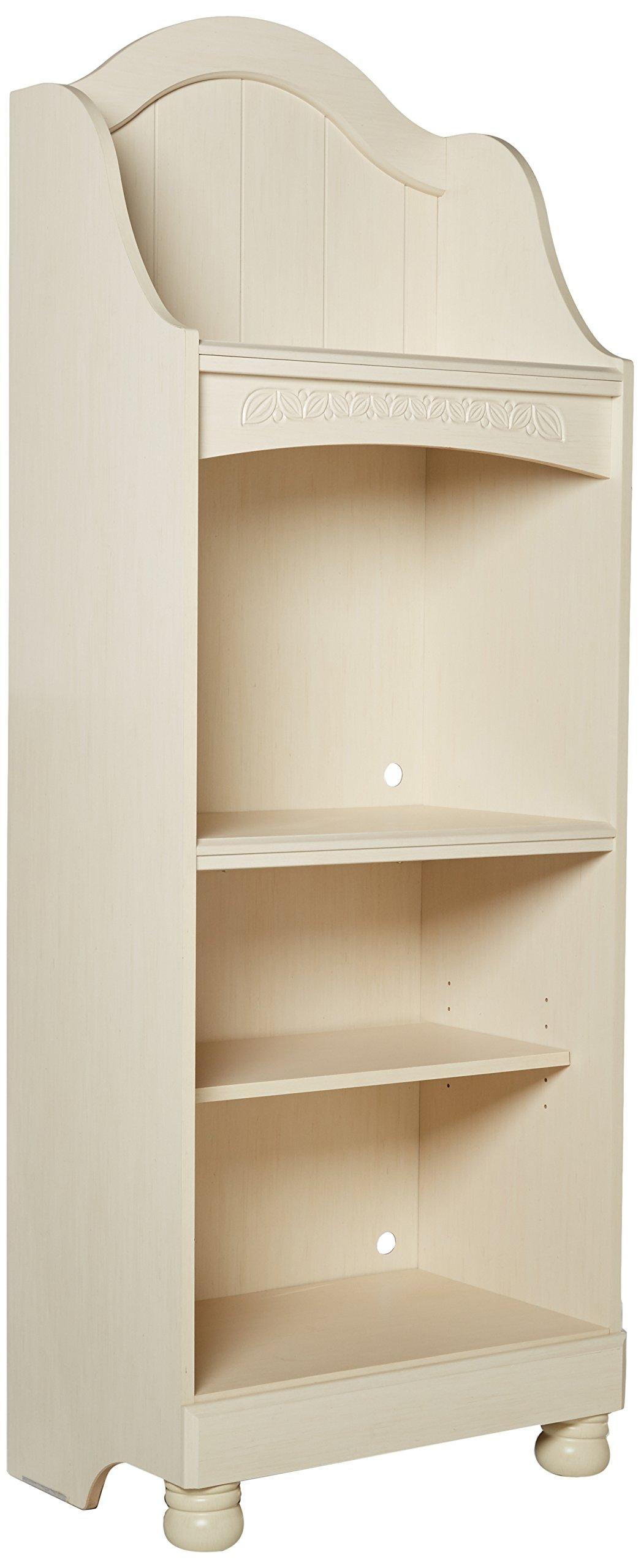 Ashley Furniture Signature Design - Cottage Retreat Bookcase - 4 Shelves 1 Adjustable - Casual Kids Room - Cream