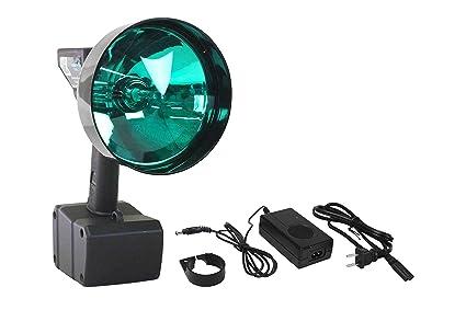 Larson Electronics 15 millones de bujías 35 W HID Spotlight con 5 Inch verde lente –