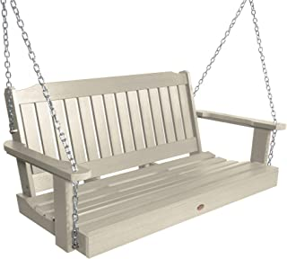 product image for Highwood AD-PORL2-WAE Lehigh Porch Swing, 4 Feet, Whitewash