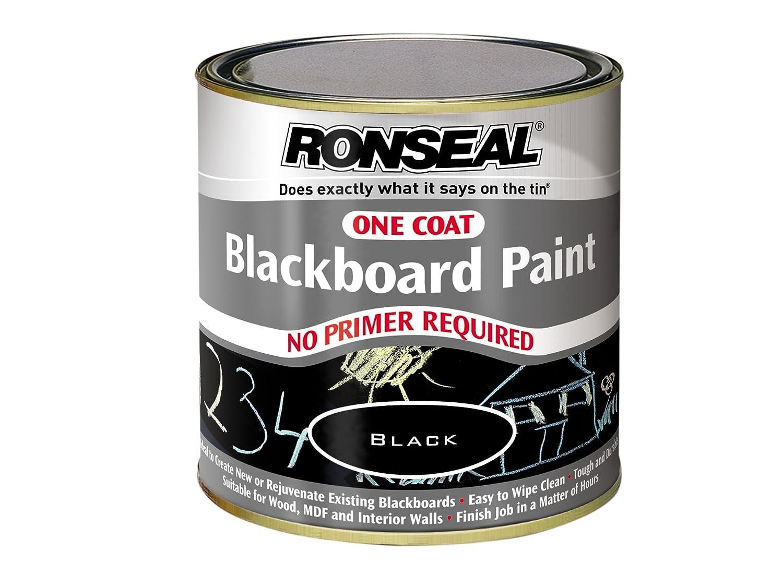 exterior blackboard paint homebase. ronseal ocbbp250 one coat blackboard paint 250ml: amazon.co.uk: diy \u0026 tools exterior homebase