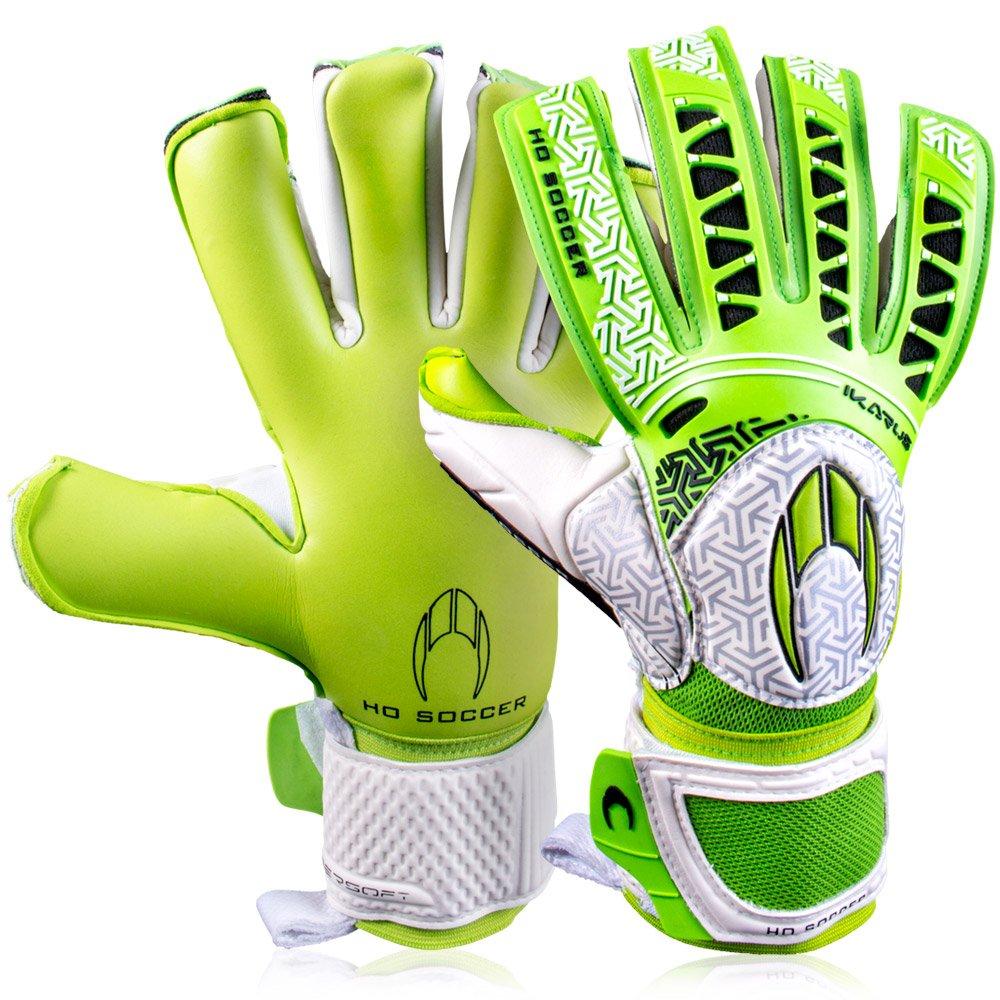 メンズHo Soccer Ikarus Club Colour Pack Roll / Negゴールキーパーグローブサッカーフットボールのイエロー B076BX4JY8 10