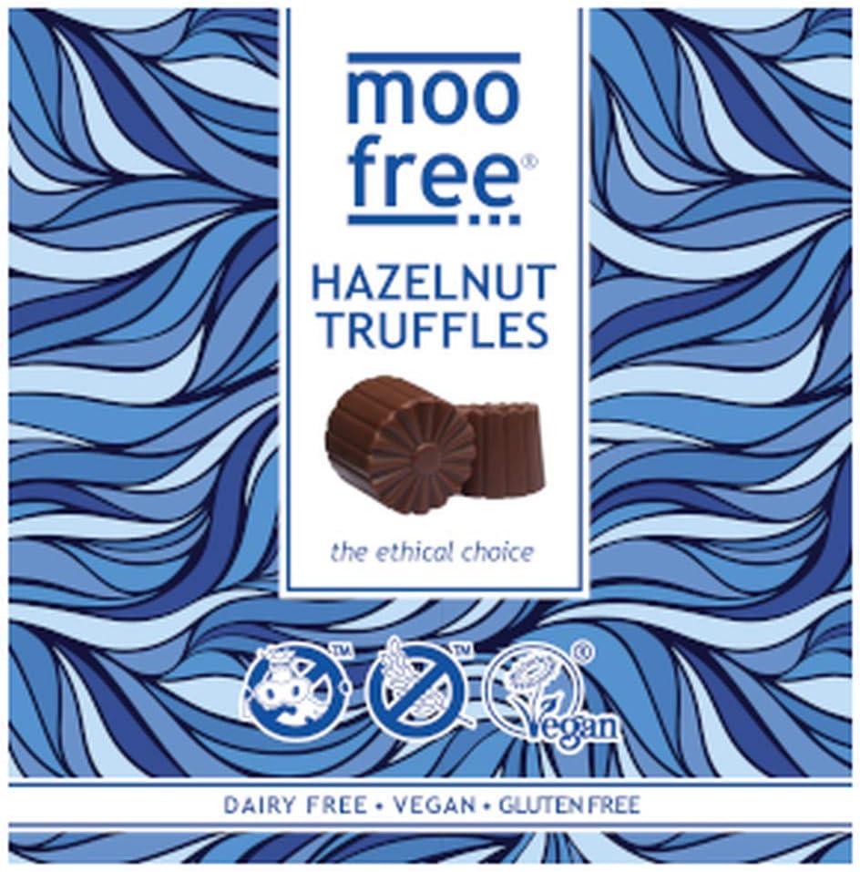 Moo Free Hazelnut Truffles, 108 g