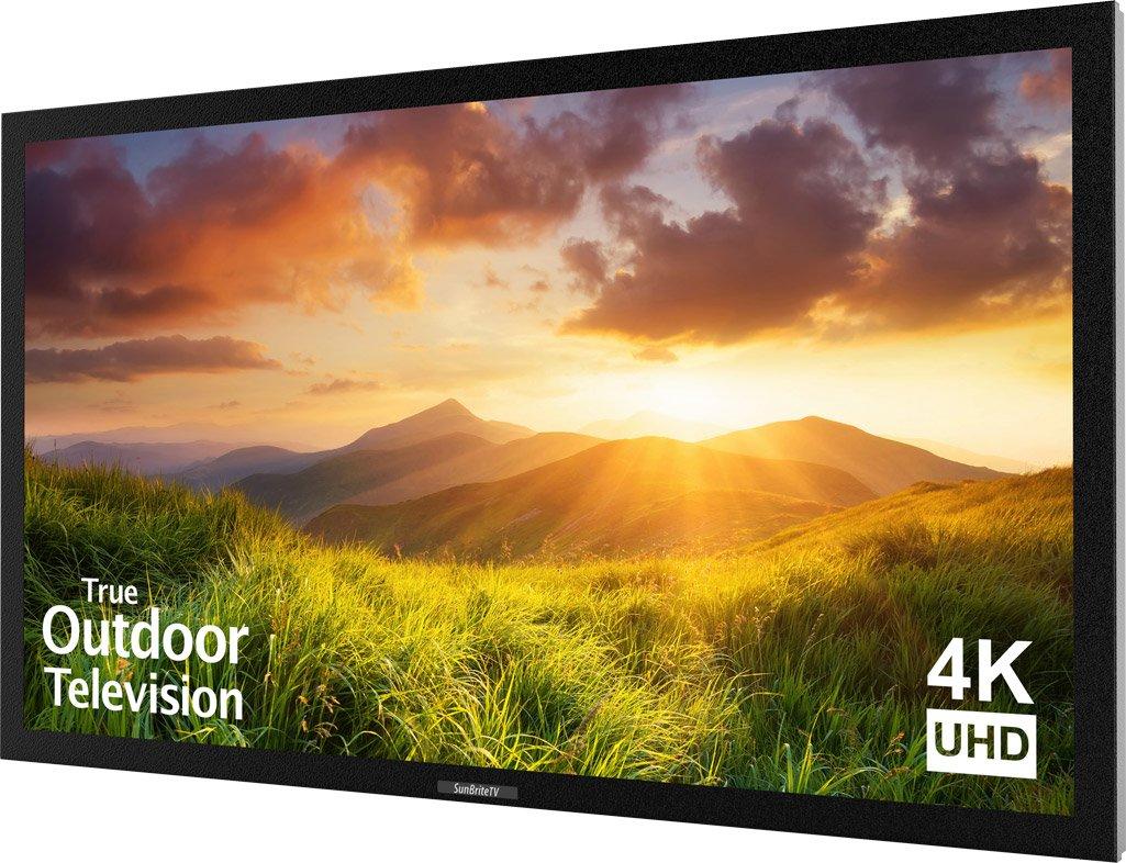 SunBriteTV Outdoor 55-Inch Signature 4K Ultra HD LED TV - SB-S-55-4K-BL Black by SunbriteTV