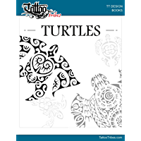 TURTLES - Design Book (TattooTribes Design Books 2) (English Edition)