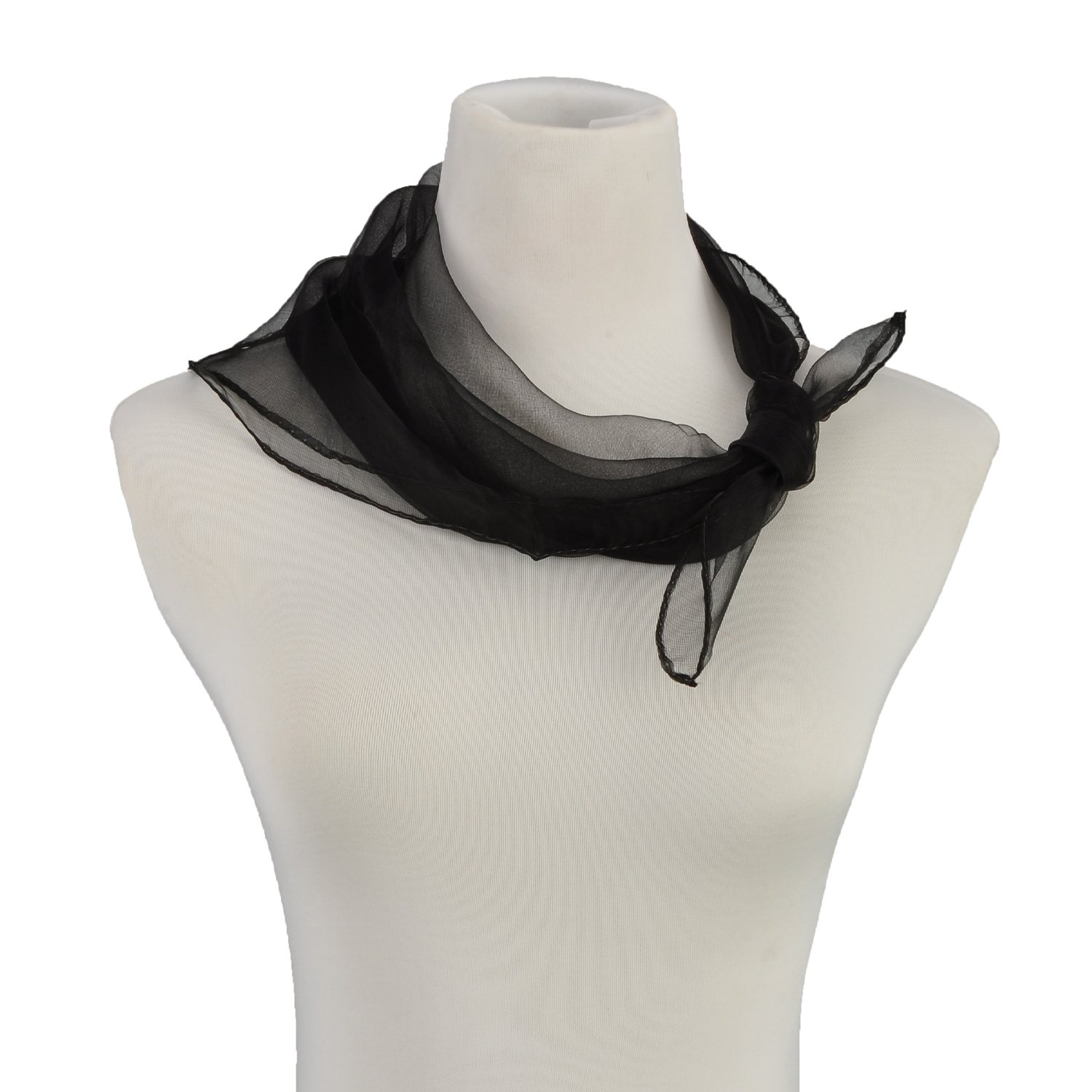 HERRICO Brightly Colored Nylon Dancing And Juggling Scarves Fashion Black by HERRICO (Image #6)
