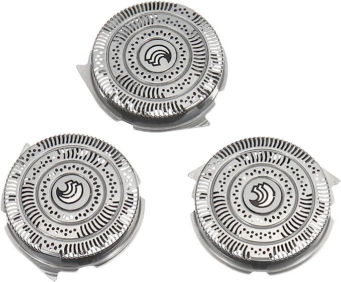 EgBert 3X Cuchillas De Afeitar De Repuesto Para Philips Norelco Speedxl Smarttouchxl Hq9 Razor: Amazon.es: Belleza