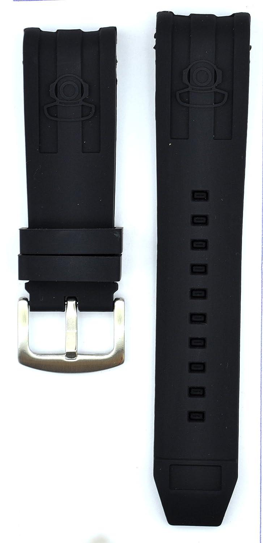 26 mmブラックゴム時計ストラップロシアのダイバー10181 Watches inv118  B0793QRVCX