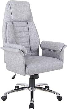 Gray Ergonomic High Back Designer Fabric Chair