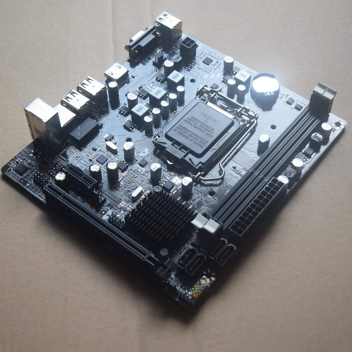 B75-1155 Placa Base para computadora de Escritorio Placa Base Profesional CPU Interfaz LGA 1155 Accesorios de computadora duraderos Detectoy Placa Base para computadora de Escritorio