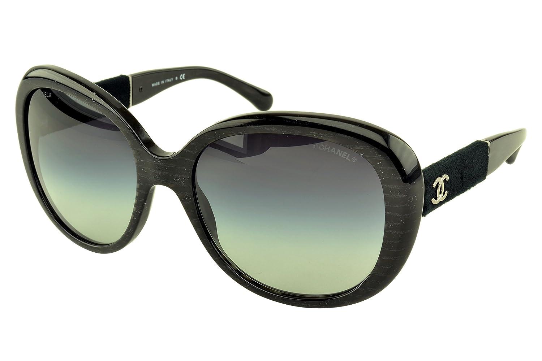 Gafas de Sol Chanel CH5256 BLACK LINE GLITTER/ GRAY GRADIENT ...