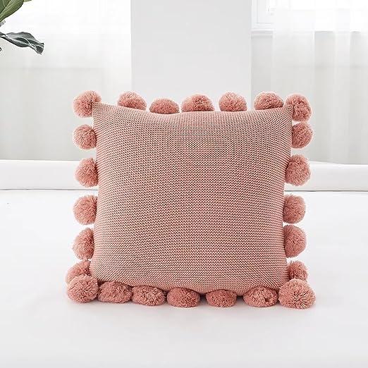 Pillow-MAIKA HOME Almohada de Estilo nórdico/cojín de Lana ...