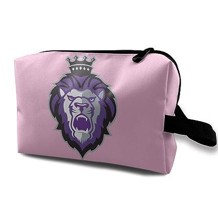 The Purple King Lion Bolsas de Maquillaje de Viaje Bolsa de ...