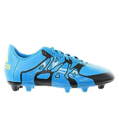 7c5d5c95e adidas Kids Unisex Soccer X15.3 Firm Artificial Ground Cleats (2)