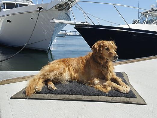 Ruff and Tuff Ruff y Tuff - Colchón autoinflable viaje perro cama con forro polar superior, 81,3 cm por 42 pulgadas: Amazon.es: Productos para mascotas