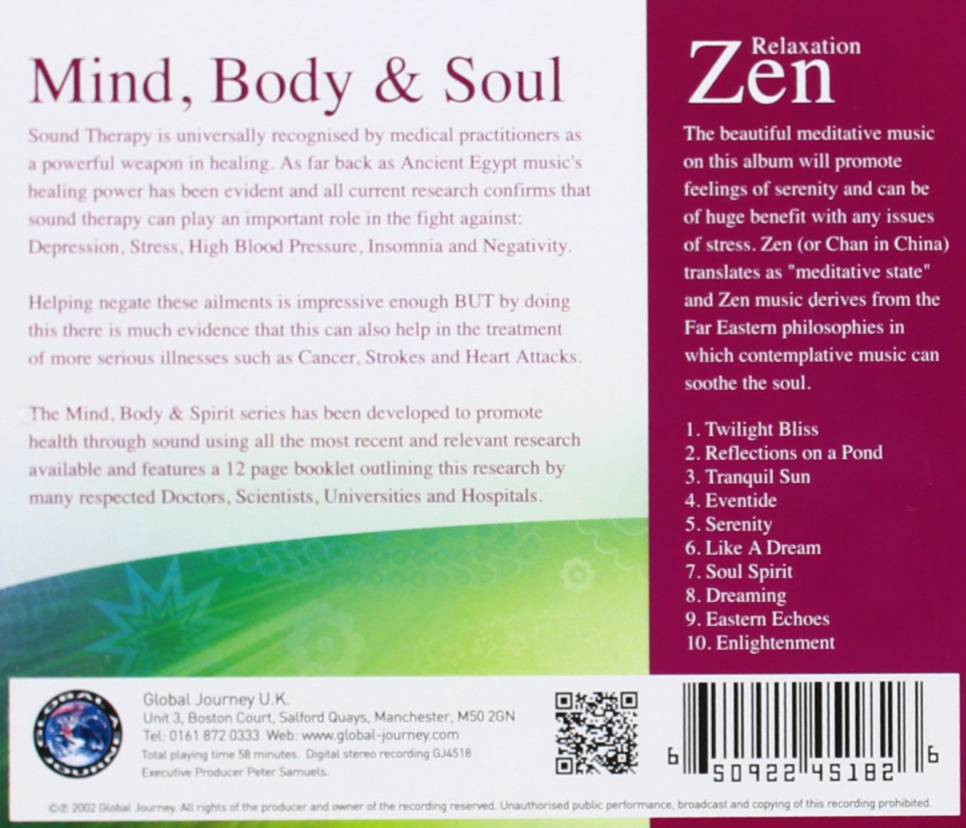 relaxation zen mind body and soul