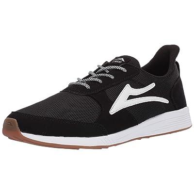 Lakai Footwear Evo Black Meshsize Tennis Shoe, Black Mesh: Shoes