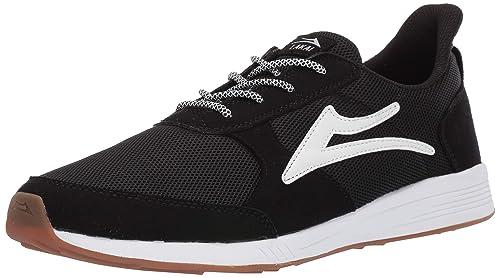 descuento mejor valorado sitio oficial nuevo baratas Lakai Footwear EVO Zapatos de Tenis de Malla Negra, Malla ...