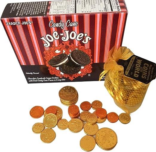 Trader Joe's Peppermint Joe Joe Cookies and Chocolate Coins Free Ship 2 day w/Prime