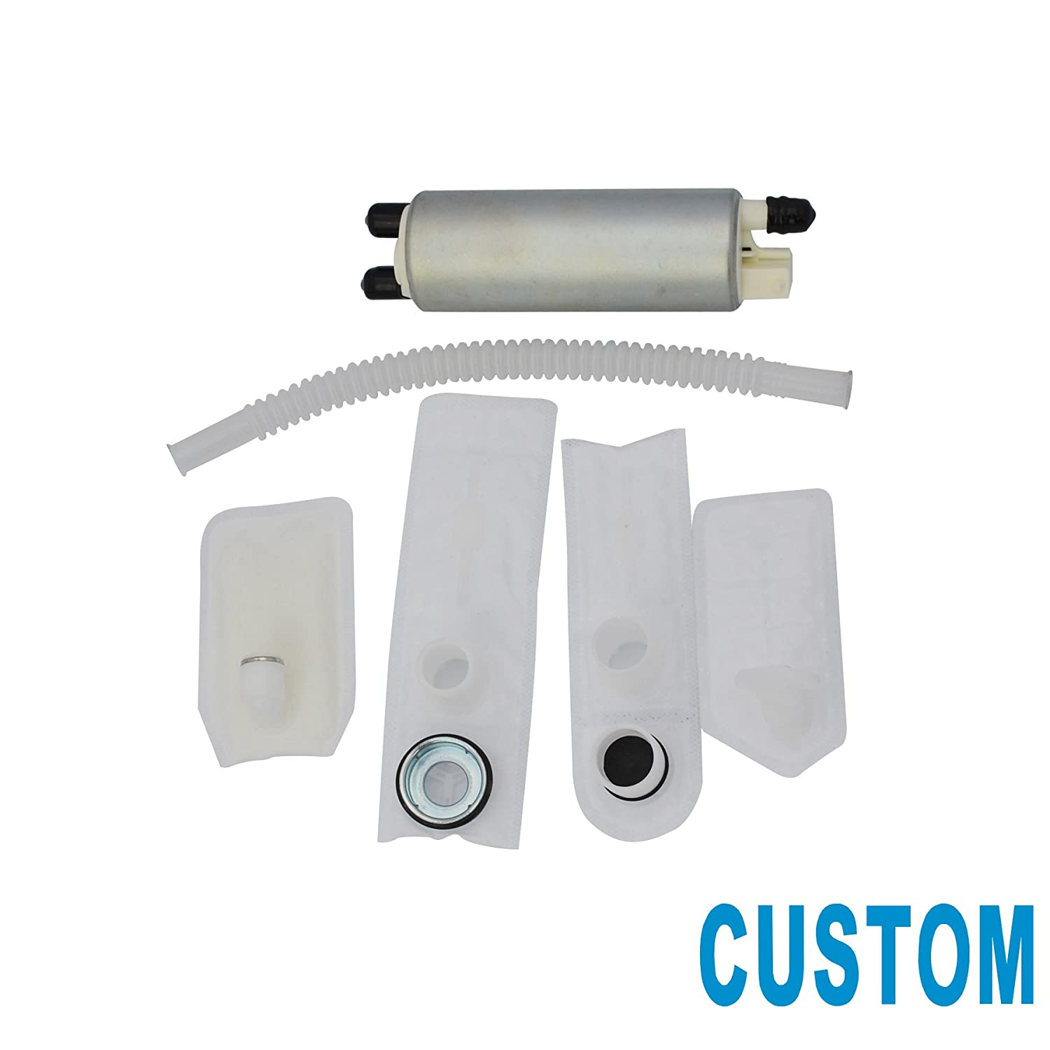 Custom 1pc New Electric Intank Fuel Pump With Cadillac Deville Filter Location Installation Kit For Buick Pontiac Chevrolet Gmc Oldsmobile Hffs380 Automotive