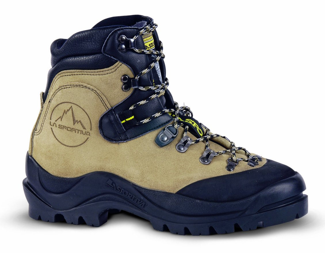 La Sportiva Makalu Mountaineering Boot - Men's Natural 42.5 by La Sportiva