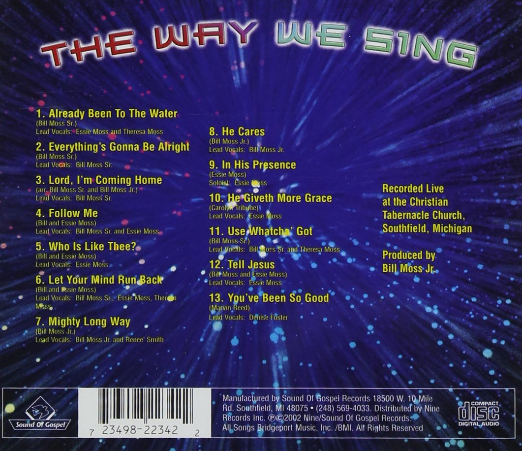 The Way We Sing