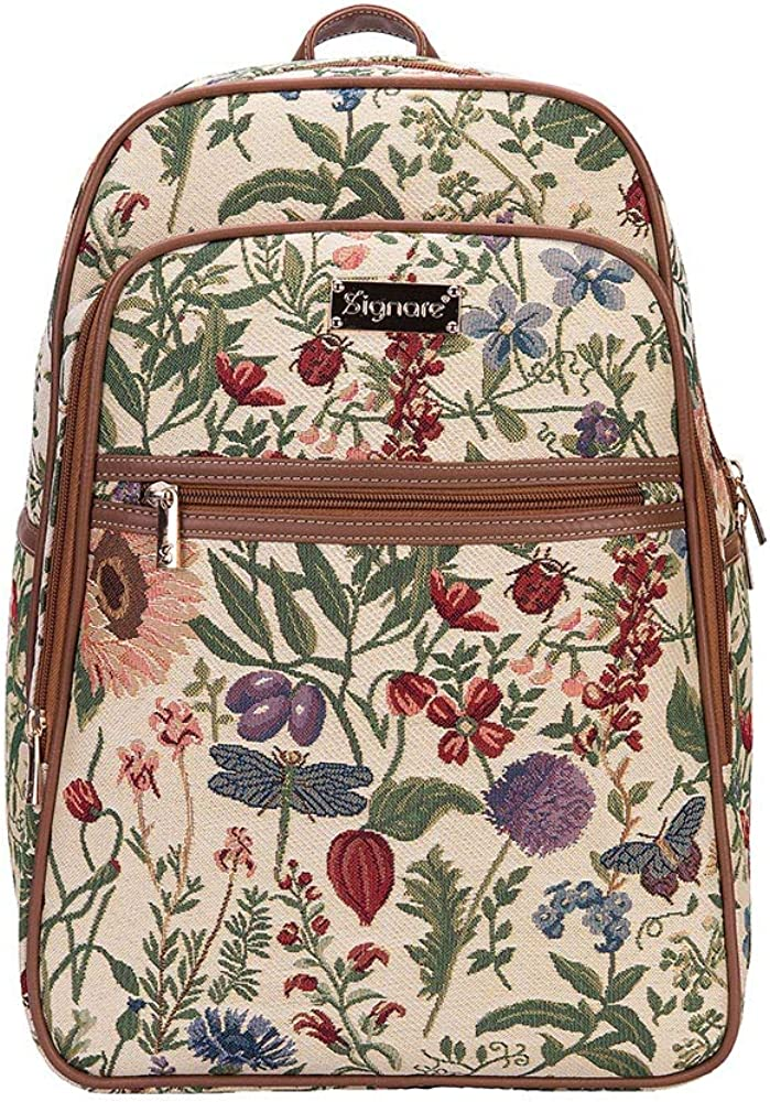 The Best Midnight Garden Floral Tapestry Carpet Bag