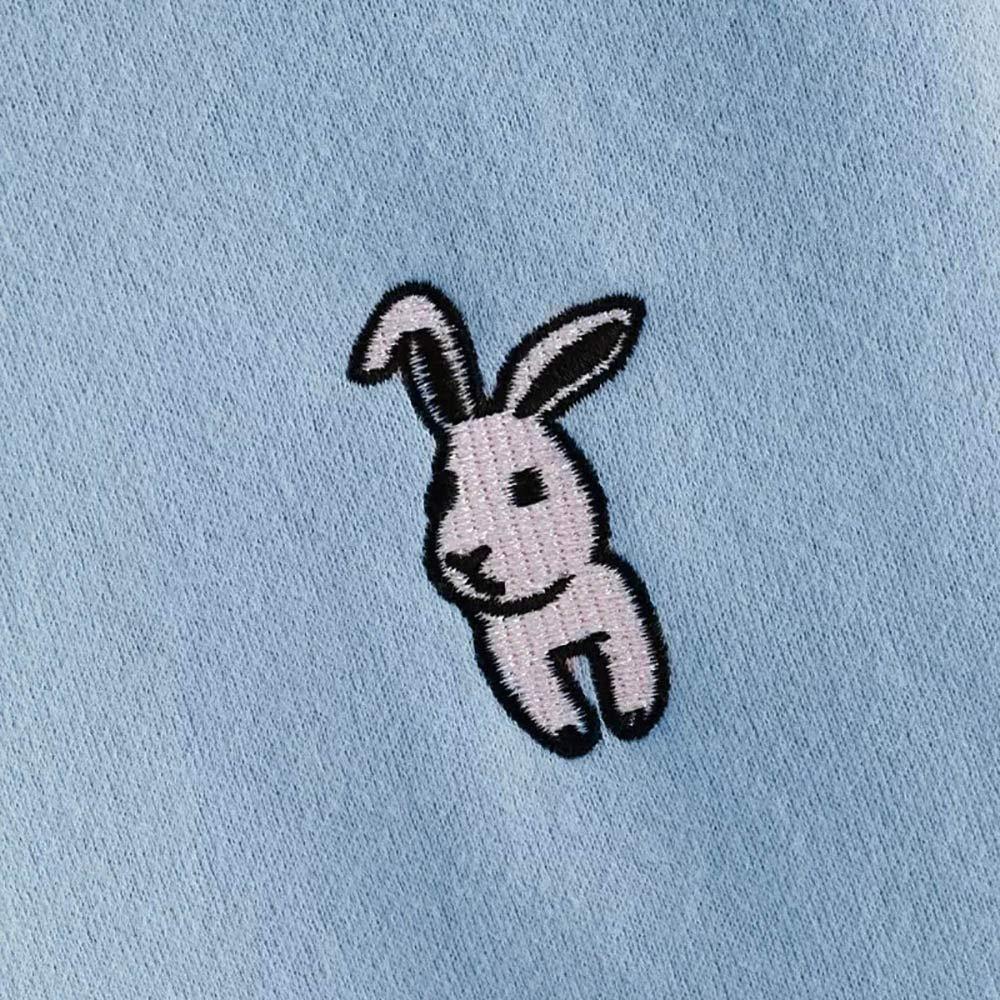 Sudadera con Capucha de Orejas de Conejo de Mujer, Sudadera de Color sólido Tops de Blusa: Amazon.es: Ropa y accesorios