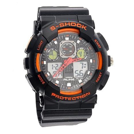 Reloj de Pulsera de Cuarzo Digital para Hombre AK1055 50M ...