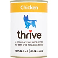 Thrive Complete, Comida Húmeda para Perros Hipoalergénico con Pollo fresco, 12x400 g