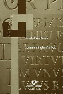Análisis de epigrafía íbera (Anejos de Veleia. Series Minor)