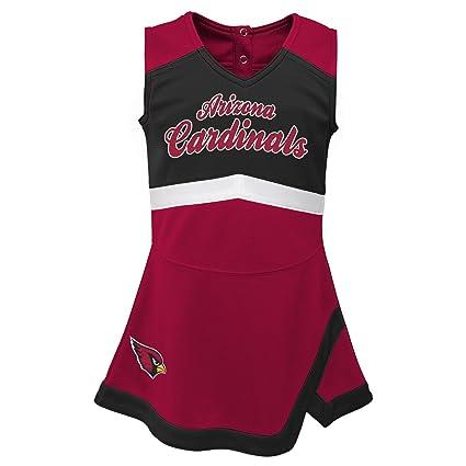 3609b196e NFL by Outerstuff NFL Arizona Cardinals Infant Cheer Captain Jumper Dress  Cardinal