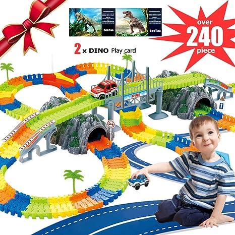 Tool Sets Electronics Car Track Toys 5 Led Flashing Lights Kids Boys Educational Christmas Birthday Gift 50% OFF