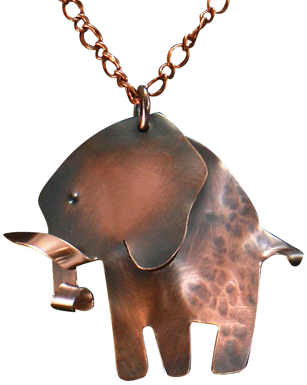 Enamel Pendant Etsy Copper Pendant Elephant Pendant Kiln Fired Enamel Elephant Gray Enamel Etsy Jewelry