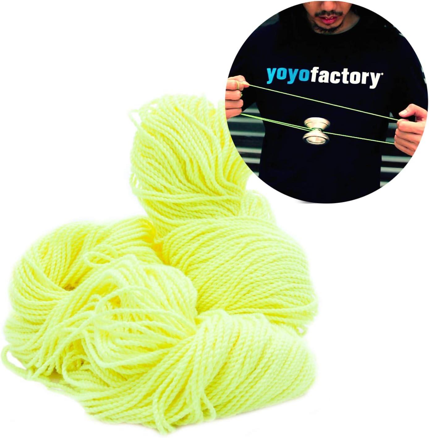 YoYoFactory Replacement Yo-Yo Strings 100pcs Green Works With Every YoYo