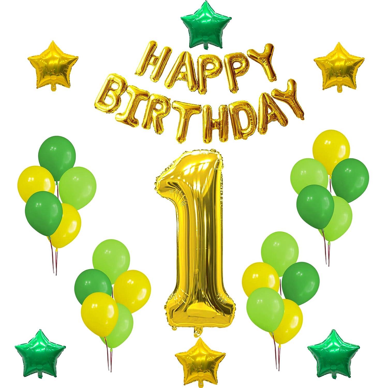 Amazon Com 1st Birthday Party Decorations Set Happy Birthday