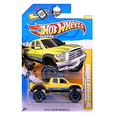 Hot Wheels 2012 New Models 40/50 \'10 Toyota Tundra 40/247 Scan and Track Card: Toys & Games [5Bkhe1103268]