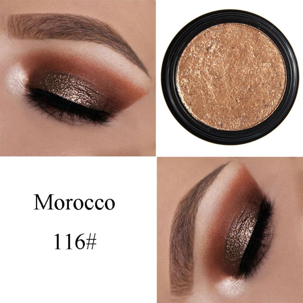 Amazon.com : Eyeshadow, Cocohot 24 Colors Glitter Shimmer Eyeshadow Palette Baked Metallic Eye Shadow Light Texture Long Lasting Make-up Party Cosmetic Tool ...