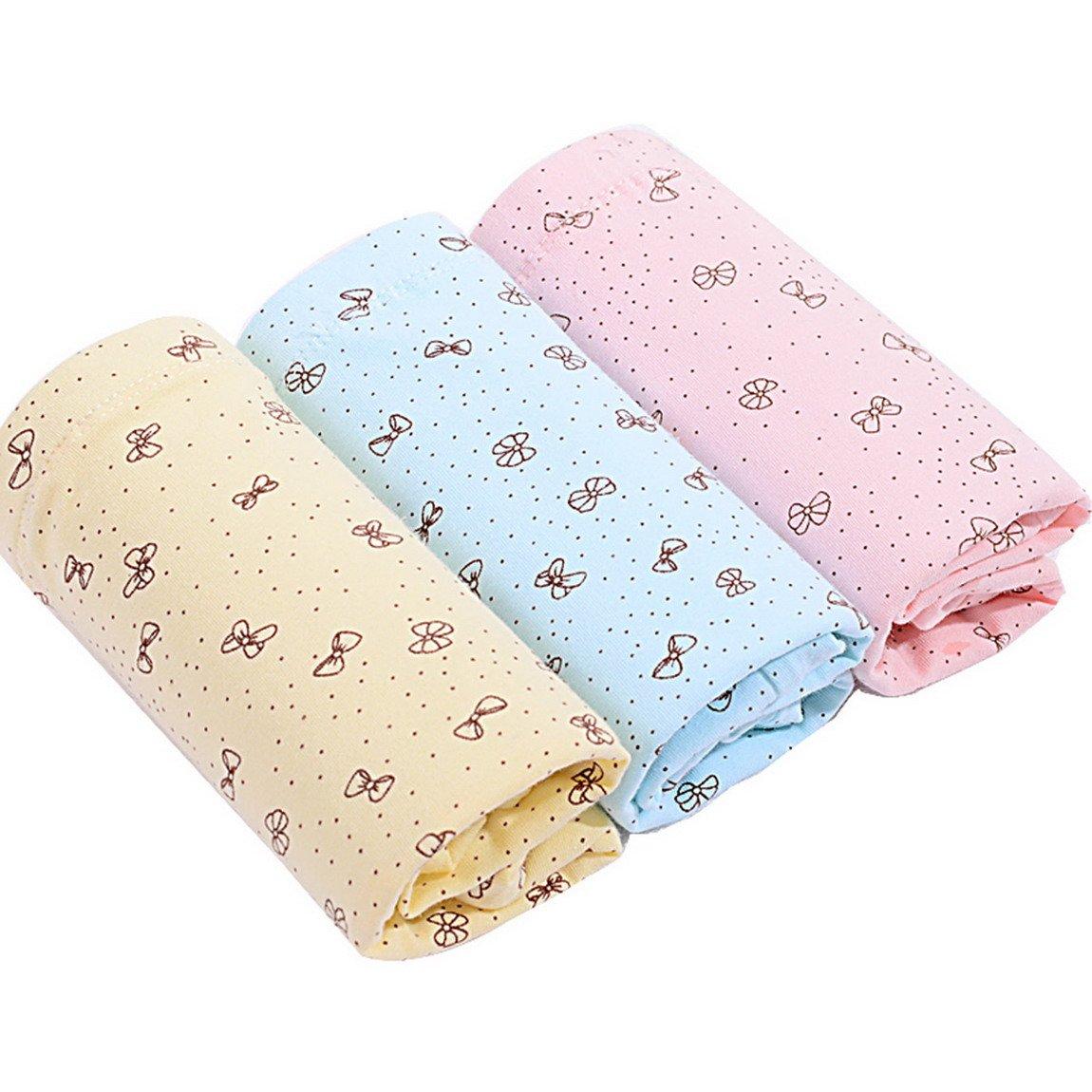 Aivtalk Women's Maternity Panties Cotton Blend High Waist Underwear 3 Pieces