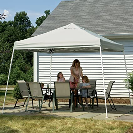 Image Unavailable. Image not available for. Color Patio Garden Canopy 12x12 ... & Amazon.com: Patio Garden Canopy 12x12 ft. (White) Slant Leg Gazebo ...
