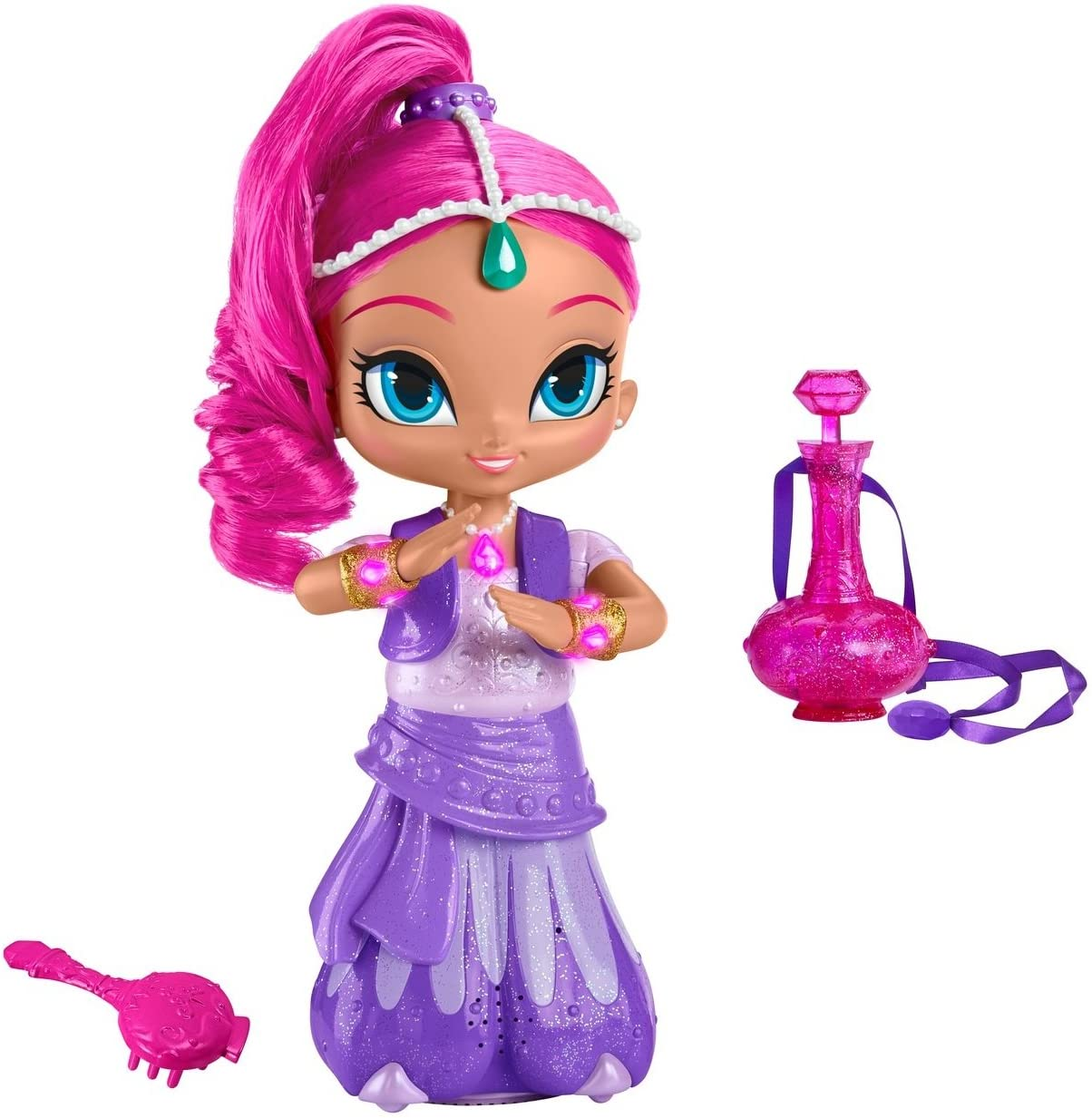 Amazon.es: Fisher-Price Shimmer and Shine Wish & Spin Shimmer by ...