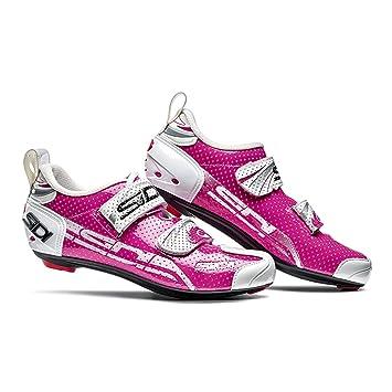 Sidi T de 4 Air Carbon Zapatilla de Ciclismo Mujer Rosa/Blanco, unisex, 38: Amazon.es: Deportes y aire libre