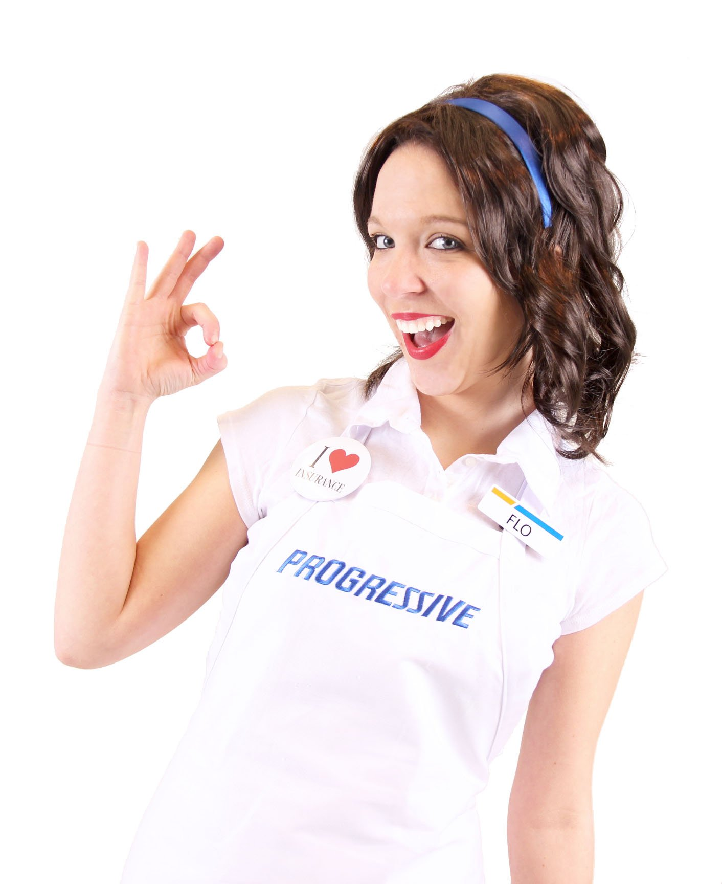 Progressive Flo Costume Set - ST by Costume Agent (Image #4)