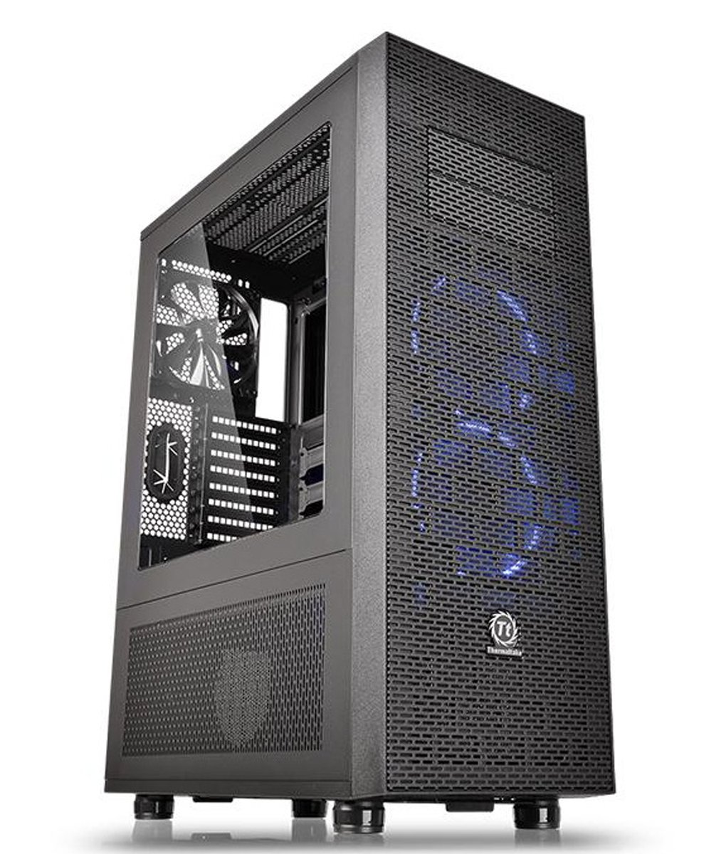 Adamant Custom 18X-Core Liquid Cooled Media Workstation Gaming Desktop