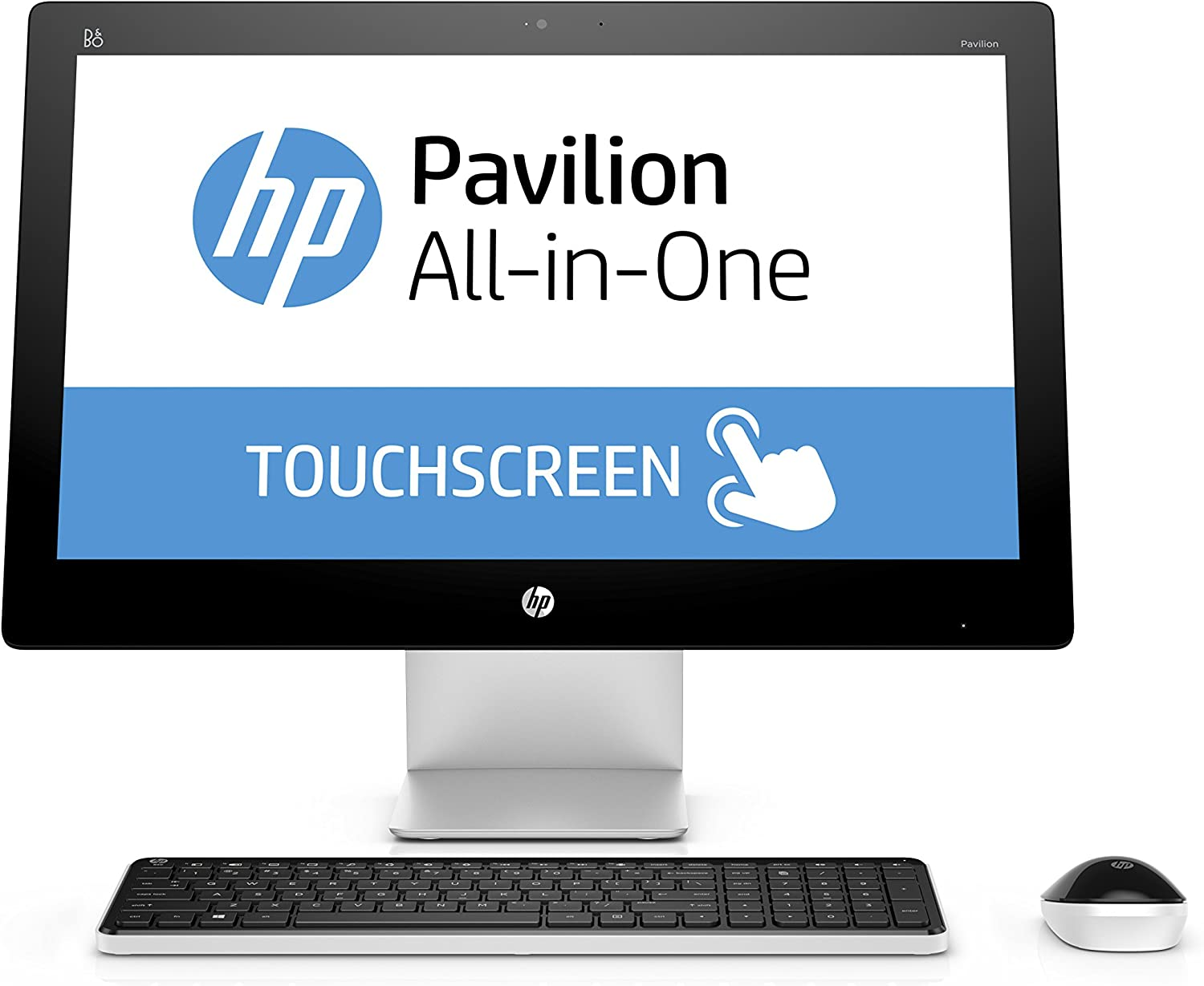 HP Pavilion 23-q120 23-Inch All-in-One Desktop (Intel Core i3, 4 GB RAM, 1 TB HDD)