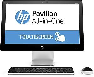 HP Pavilion 23-q120 23-Inch All-in-One Desktop (Intel Core i3, 4 GB RAM, 1 TB HDD)