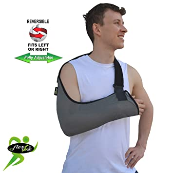 How to make a sling for left arm