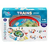 Picnmix Trains Educational Learning Toy and Game Sticker Puzzle for 3 year olds to 7 year olds