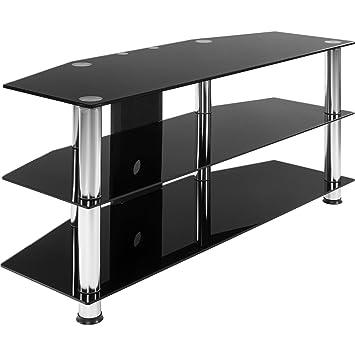 Stilista Tv Rack Glas Tisch 110 X 50 X 40 Cm 8 Mm Sicherheitsglas
