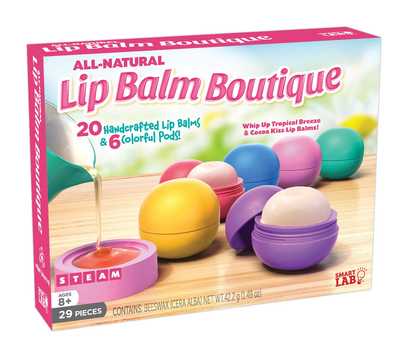 SmartLab Toys All-Natural Lip Balm Boutique by The Quarto Group