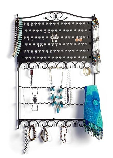 Amazoncom Mango Steam WallMounted Jewelry Earring Organizer